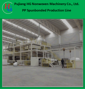 Spunbonded Production Line, Non Woven Fabric Machine, Spunbonded Nonwoven Cloth Machine