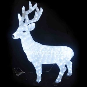 Christmas Decorative LED Deer Light (LDM-deer-108cm) pictures & photos