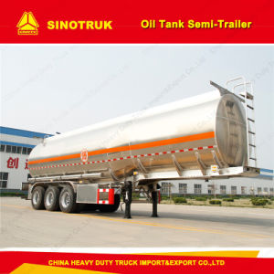 3 Axle Fule Tank Trailer Truck Oil Tanker Semi-Trailer pictures & photos