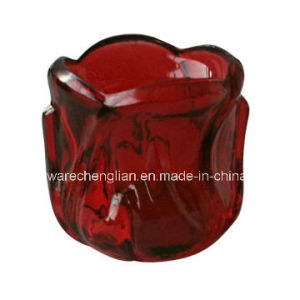 Color-Sprayed Glass Candle Holders (ZT-081) pictures & photos
