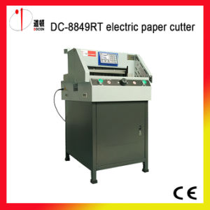 DC-8849rt Electric Paper Guillotine Cutter Machine pictures & photos