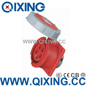 110V 16A 2p+E Earth Contact Position 4h CE Approval Waterproof Industrial Socket pictures & photos