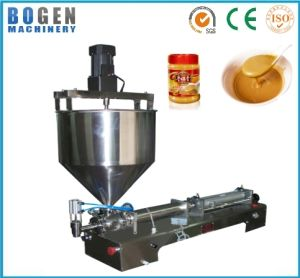 Full Stainless Steel Chilli Paste Filling Machine with Ce pictures & photos