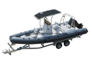 Aqualand 21feet 6.5m Rib Motor Boat/Rigid Inflatable Rescue Boat (RIB660B) pictures & photos