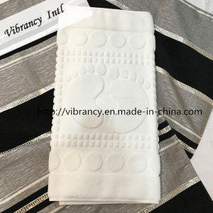 Customized SGS Certified Hotel White Bath Foot Towel Hotel Supply pictures & photos