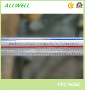 PVC Plastic Fiber Knitted Reinforced Water Hose Pipe pictures & photos