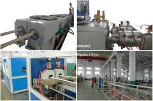 PVC Double and Four Pipe Extrusion Line/Extrusion Machine