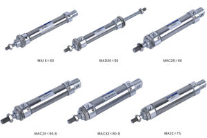 Air Cylinder (MA Series Stainless Steel Mini Cylinder)