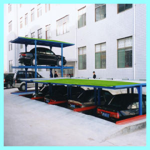 CE 4 Post Underground Vertical Garage Automated Car Parking pictures & photos
