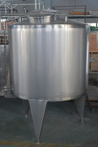 Food Sanitary Stainless Steel 1000L Milk Blending Tank pictures & photos