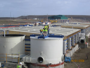 Fiberglass Tanks Made on Site pictures & photos