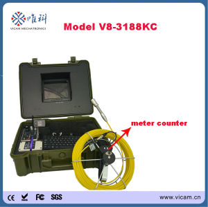 8 Inch Screen Durable Pipe Inspection Camera System pictures & photos