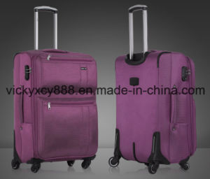 Wheeled Trolley Boarding Laptop Business Luggage Travel Bag Case (CY6826) pictures & photos