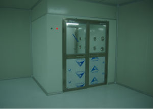 Material Airshower with Two Doors for Electronic Interlocking pictures & photos