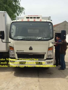 Refrigerator Truck Light Duty Commercial Trucks -18 Degree Temperature pictures & photos