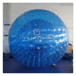 Popular Sale Blue Color Inflatable Zorbing Ball in Factory Price