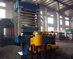 Rubber Paver Tile Making Press/ Rubber Flooring Tile Vulcanizer pictures & photos