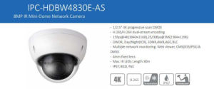 Dahua 8MP IR Mini-Dome CCTV IP Digital Video Camera (IPC-HDBW4830E-AS) pictures & photos