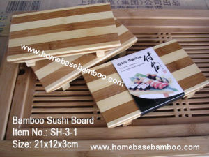 Bamboo Sushi Serve Board (Plate) Sh3 pictures & photos
