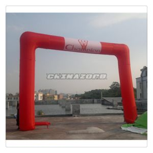 Red Color Inflatable Archway with Cutomized Logo Printings