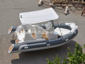 Liya 5.8m Center Console Boat Luxury Rib Fiberglass Boat pictures & photos