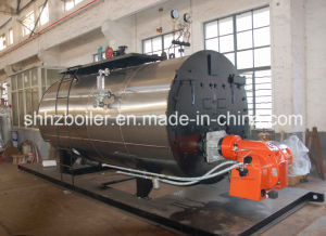 500-10000kg/H Fire Tube 3 Pass Wet Back Type Oil Fired Steam Boiler pictures & photos