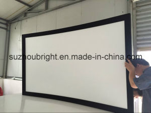 Curved Projection Screen Curved Fixed Frame Projector Screen
