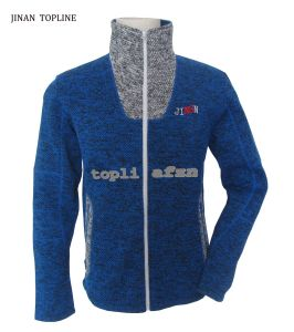 Men Knitted Polar Fleece Casual Jacket for Sports Wear pictures & photos