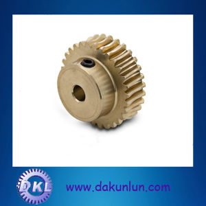 Precision Brass Worm Gear Shaft