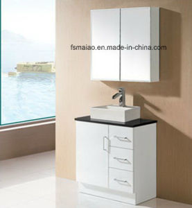 White Gloss MDF Bathroom Vanity with Soft Close (SK17-750W) pictures & photos
