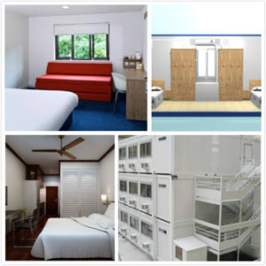 EPS or PU Sandwich Panel Dormitory Portable Container House pictures & photos