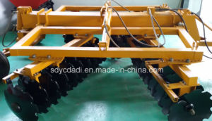 Harrow Disc in China with 65-Mn/Heavy-Duty Hydraulic Wing Disc Harrow pictures & photos