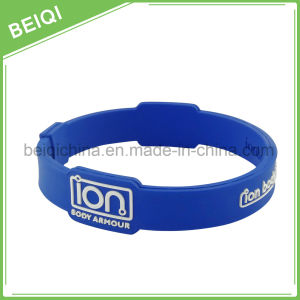 Promotional Hot Sale Silicone Rubber Band Bracelet/ Wrist Watch Silicone Band pictures & photos