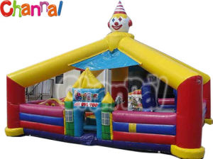 Clown Inflatable Obstacle/Kids Inflatable Obstacles for Sale Bb147 pictures & photos