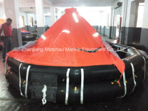 Solas Approved Davit Launching Type Inflatable Life Raft pictures & photos