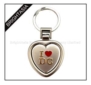 Promotion Custom Logo Metal Souvenir Spinning Keychain (BYH-101084)) pictures & photos