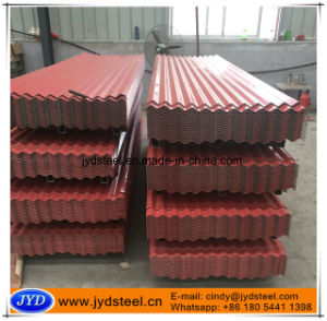 Corrugated PPGI for Steel/Metal/Iron Roof Sheet pictures & photos