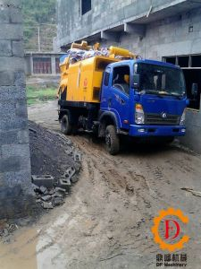 Diesel & Electric Truck Mounted Concrete Mixer Pump pictures & photos