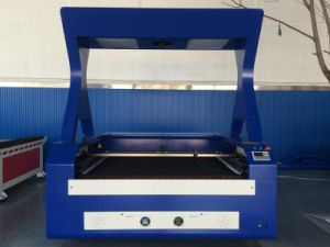 Embroidery Cloth Laser Cutting Machine with Camera pictures & photos