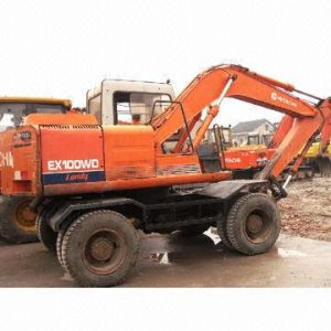 Used Wheel/Hydraulic Excavator, Hitachi100-1W