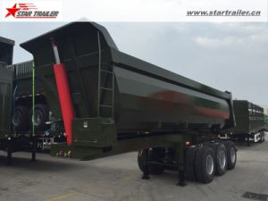 Tri Axle Dump Semi Trailer Semi Tipper for Sale pictures & photos