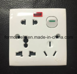 16A 250V Wall Switch for Bangladesh Market pictures & photos