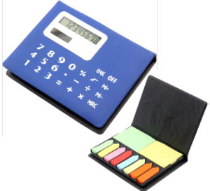 Notebook with Calculator, Promotion Calculator pictures & photos