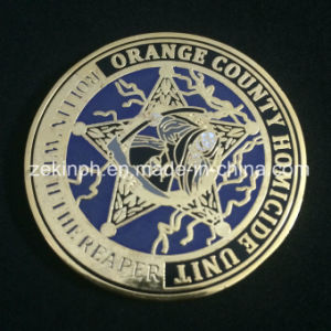Good Quality Hot Sale Hard Enamel Coin pictures & photos