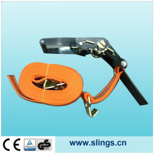 """2""""X16′ Ratchet Strap with E Tracking Fittings pictures & photos"""