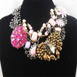 New Item Acrylic Beads Stones Colorful Fashion Jewelry Necklace