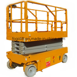 10m Self-Propelled Battery Power Working Platform Lift pictures & photos