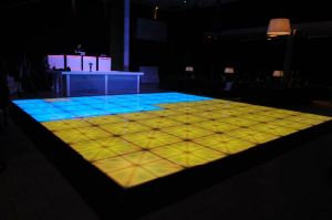 LED Color Changing Snow Effects Dance Floor pictures & photos