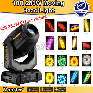 Christmas Decoration 280W 10r Beam Spot Wash 3in1 Moving Head Light