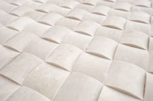 Crema Marfil 3D Small Bread Marble Mosaic Tile pictures & photos